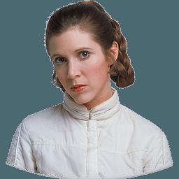 Princess Leia Jedi Service