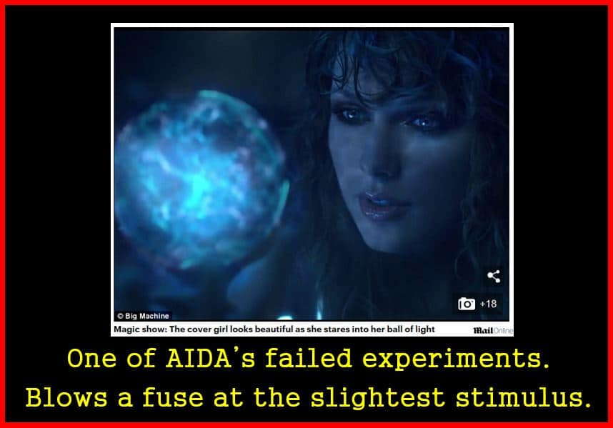 One Of AIDA's Failed Experiments